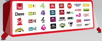 Picture freeview tv